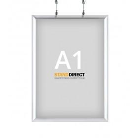 Cadre à suspendre (double face) - A1 (59,4 x 84cm)