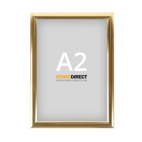 Cadre clic-clac doré - A2 (42 x 59,4cm)