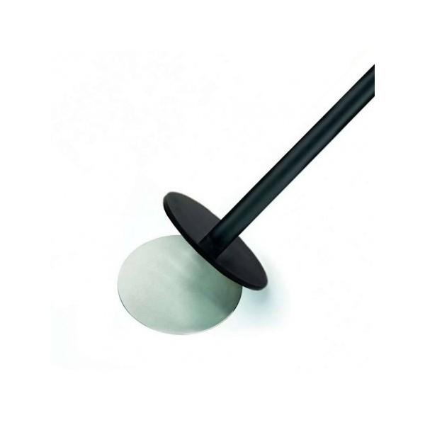 Gurtpfosten schwarz MAGNETIC