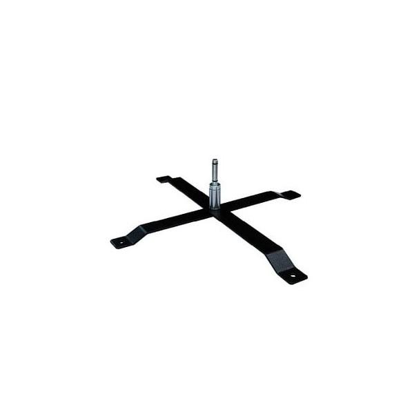 Pied en croix pour oriflamme publicitaire beachflag