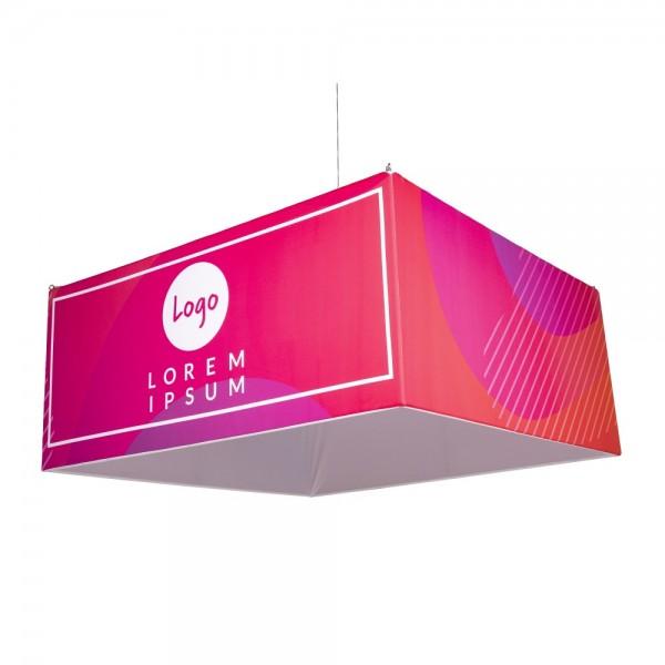 Grand cube suspendu