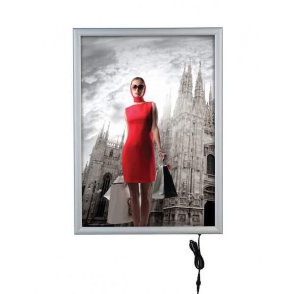 Smart LedBox: le cadre lumineux (LED) adapté à une utilisation extérieure.