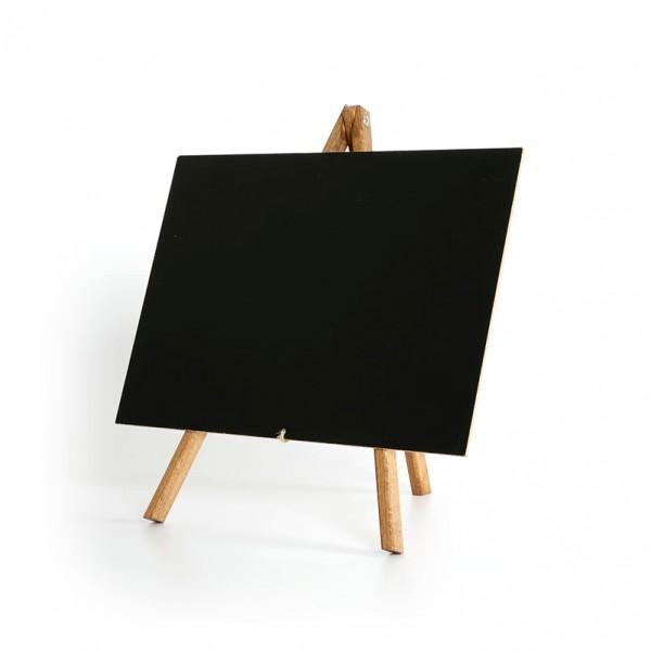 Schildersezel met zwarte tafel