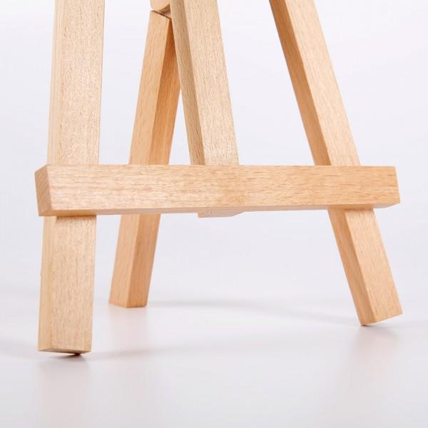 Mini chevalet de table en bois de hêtre