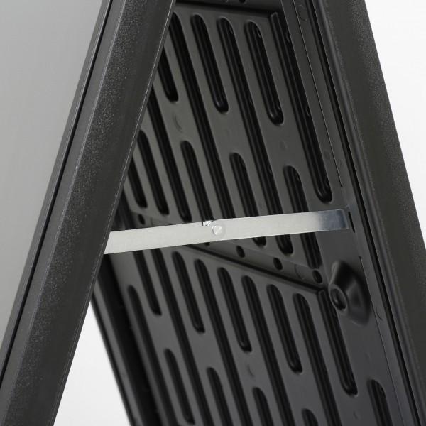 zwarte plastic stoepbord