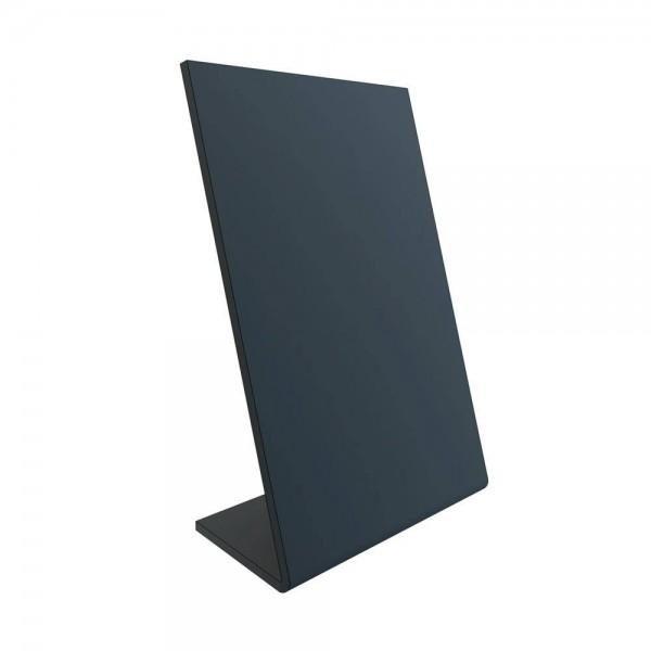 Krijtbord voor tafel in L-vorm