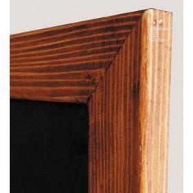 Cadre en bois équipé d'une ardoise