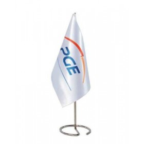 Werbe Tischflagge
