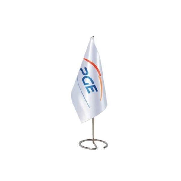 Werbe Tischflagge - weiß