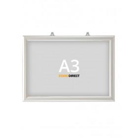 "Cadre ""Slide-in"" à suspendre - A3 (29,7 x 42cm) - Paysage"