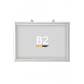 """Einschubrahmen """"Slide-in"""" für Decke - B2 (50 x 70,7cm) - Quer"""