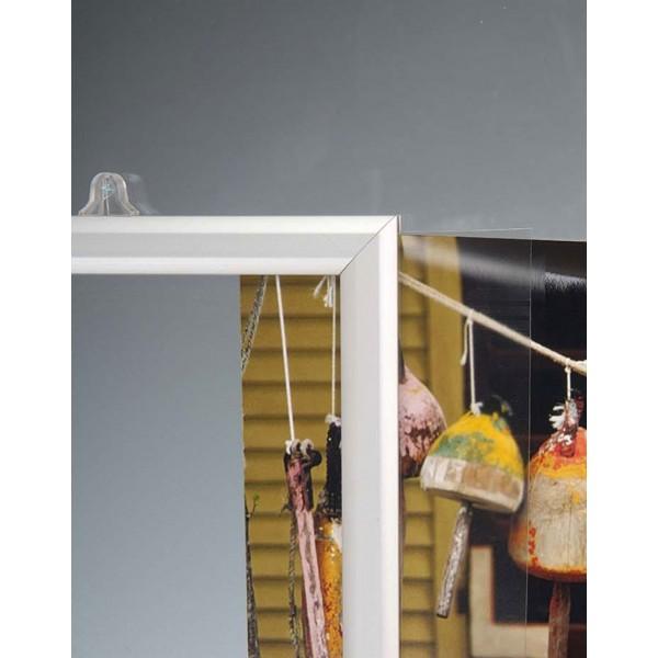 Slide-in frame voorzien om op te hangen geworden