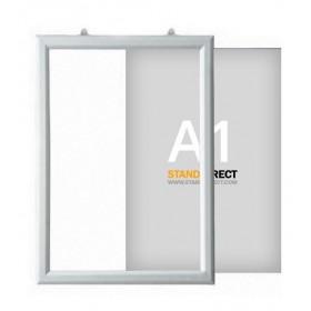 "Cadre ""Slide-in"" à suspendre - A1 (59,4 x 84cm) - Portrait"