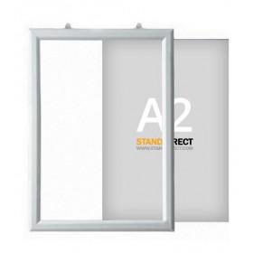 "Cadre ""Slide-in"" à suspendre - A2 (42 x 59,4cm) - Portrait"