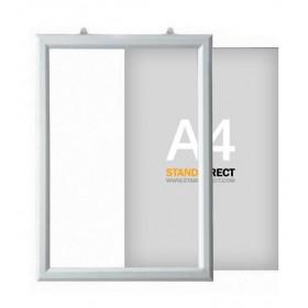 """Einschubrahmen """"Slide-in"""" für Decke - A4 - Hochformat"""