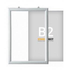 """Einschubrahmen """"Slide-in"""" für Decke - B2 (50 x 70,7cm) - Hoch"""