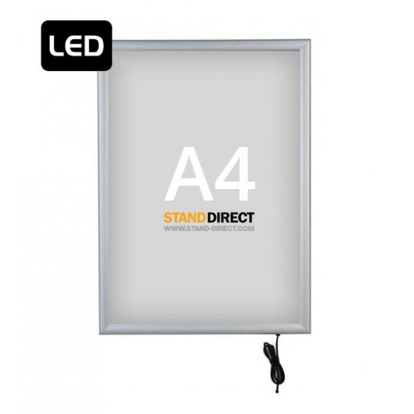 """A4 LED-Leuchtrahmen """"Smart LED Box"""", einseitig"""