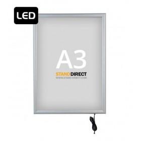 """LED-Leuchtrahmen """"Smart LED Box"""", einseitig - A3"""