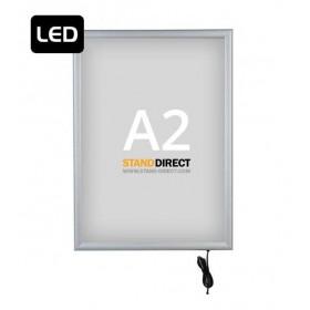 """LED-Leuchtrahmen """"Smart LED Box"""", einseitig - A2"""
