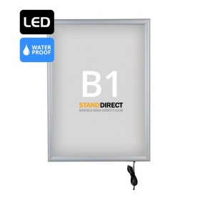 LED Leuchtrahmen Outdoor - B1 (70,7 x 100cm)
