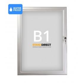 Panneau d'affichage imperméable et verrouillable - B1 (70,7 x 100cm)