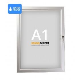Panneau d'affichage imperméable et verrouillable - A1 (59,4 x 84cm)