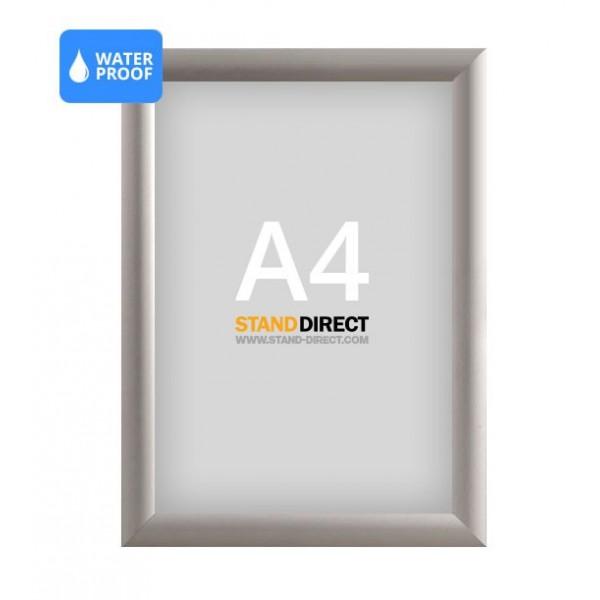 A4 Wetterfester Klapprahmen, 25mm Profil