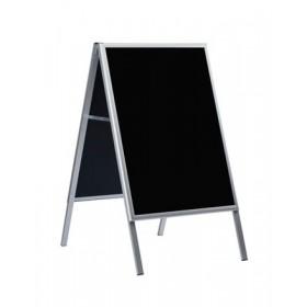 Kundenstopper Kreide - 60x80cm