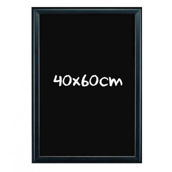 Kreidetafel schwarz Aluminium - 40x60cm