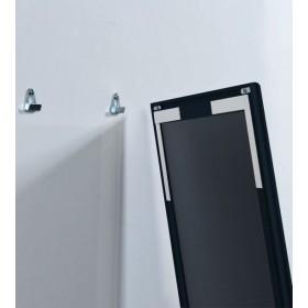 Zwart krijtbord aluminium
