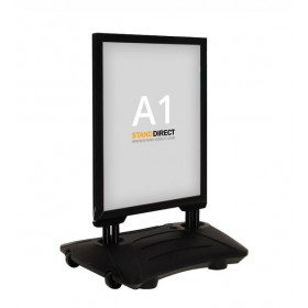 Kundenstopper WindPro - A1 - Schwarz