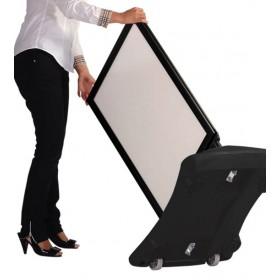 Stoepbord WindPro - B2 (50 x 70,7cm) - Zwart