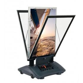 Lichtgevende stoepbord (LED), 100% waterdicht, dubbelzijdig