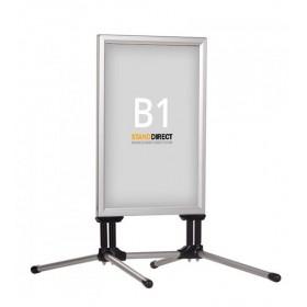 Swing Pro - B1 (70,7 x 100cm) - Eloxiertes Aluminium