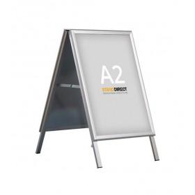 A2 Reclame stoepbord, 90° hoeken