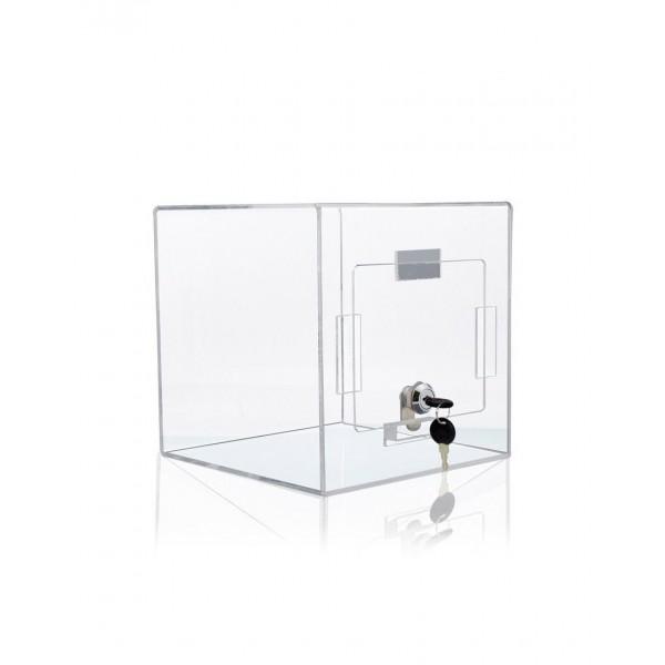 Urne jeu concours en plexi transparent