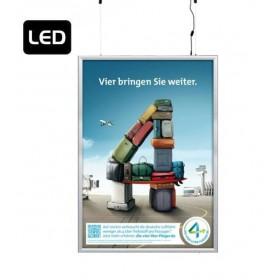 """Smart Led Box"" Rahmen zum Aufhängen, doppelseitig."