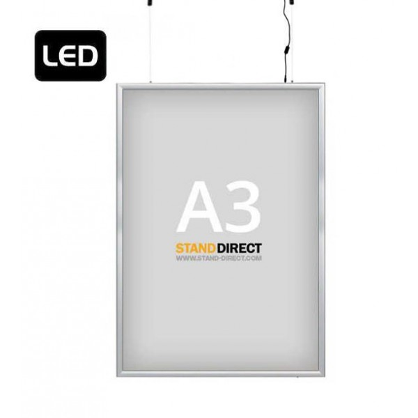 "A3 LED-Leuchtrahmen ""Smart LED Box"", doppelseitig"