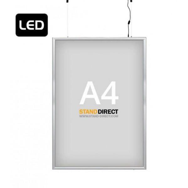 "A4 LED-Leuchtrahmen ""Smart LED Box"", doppelseitig"