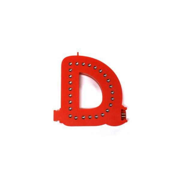Lichtgevende letters (D)