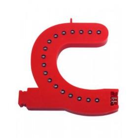 Leuchtende Buchstaben Rot - C