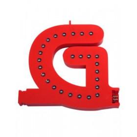 Lettres lumineuses rouges (Prix unitaire) - G
