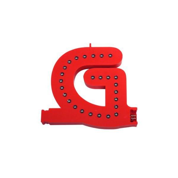 Lichtgevende letters (G)