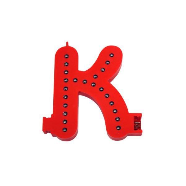 Lichtgevende letters (K)