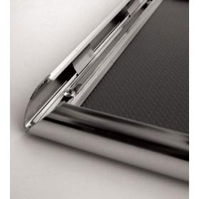 Kliklijst chroom, 25mm profiel - A3