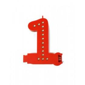 Leuchtende Buchstaben Rot - 1