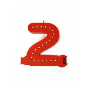 Lettres lumineuses rouges (Prix unitaire) - 2