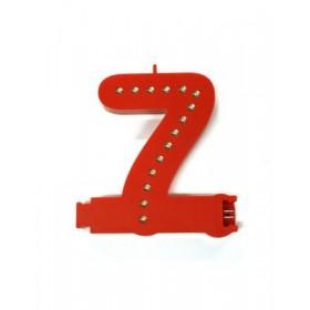 Leuchtende Buchstaben Rot - 7