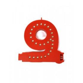 Leuchtende Buchstaben Rot - 9
