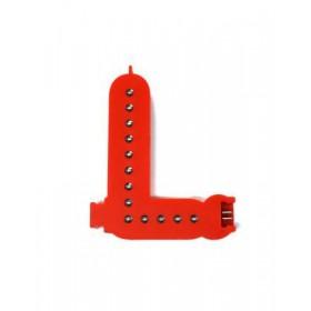 Lettres lumineuses rouges (Prix unitaire) - L